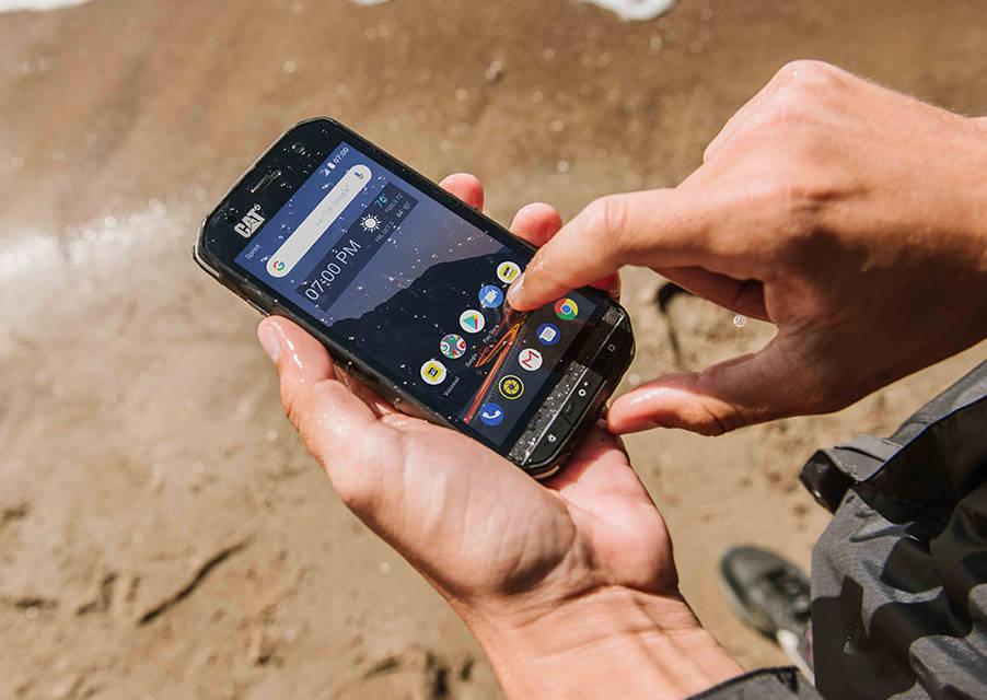 niesamowita cena najlepsze oferty na unikalny design Pancerne smartfony marki CAT z bezpłatną opcją naprawy ...