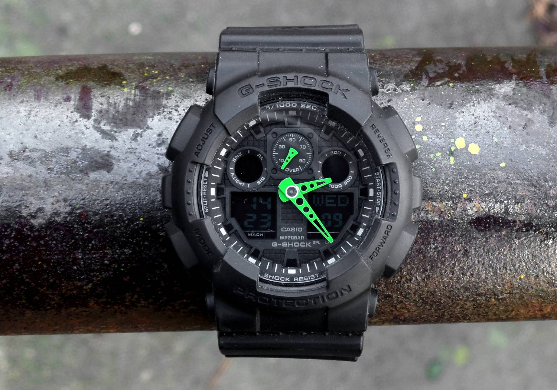 Casio GA-100C-1A3ER, G-Shock postapo. Nieśmiertelny klasyk dla oszczędnych