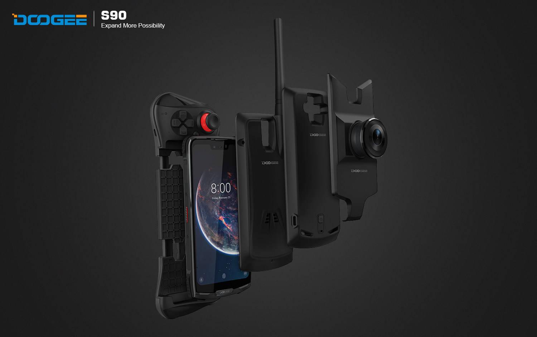 Modułowy DOOGEE S90 jest już na Kickstarterze - czyli ruszyła przedsprzedaż