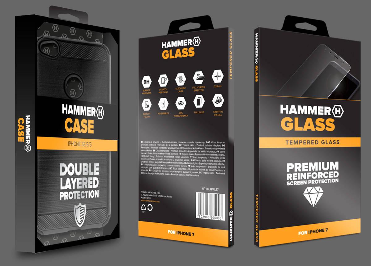 HAMMER GLASS i HAMMER CASE: nowości marki wzmocnią smartfony