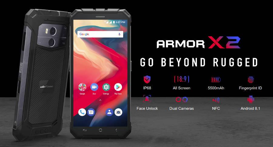 Ulefone Armor X2 - nowy (tak jakby), budżetowy pancernik z Chin