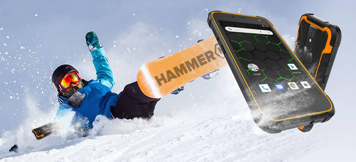 HAMMER zaprezentował smartfon Active 2 LTE  z Android GO Edition