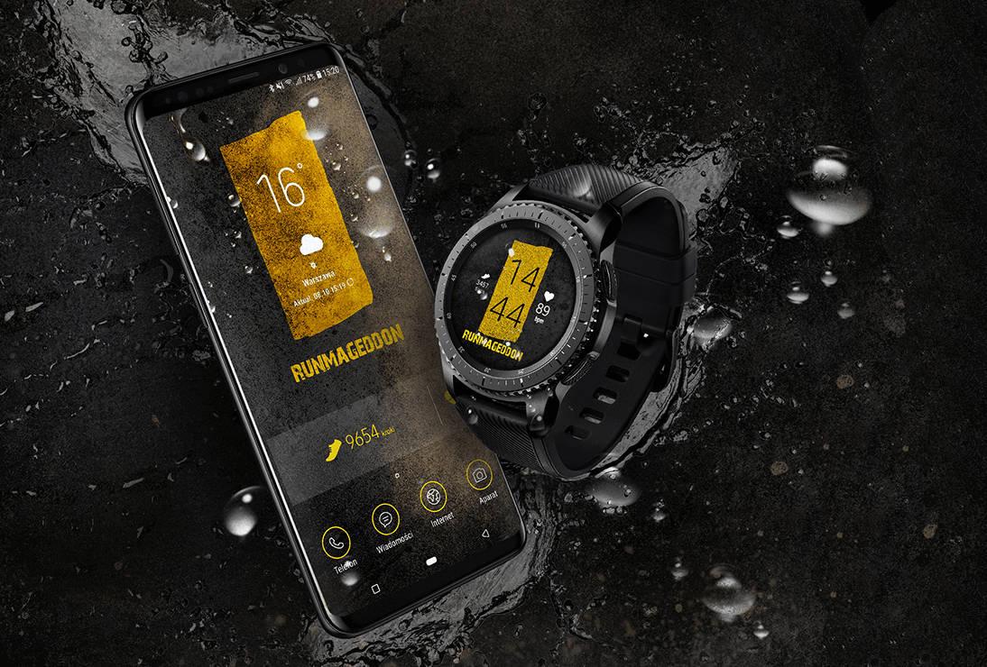 Samsung x Runmageddon - zestaw dla miłośników sportów ekstremalnych