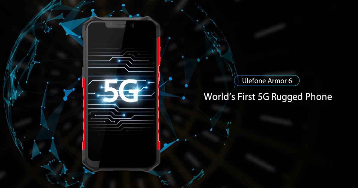 Ulefone zapowiada Armor 6 – pierwszy wzmocniony smartfon z 5G