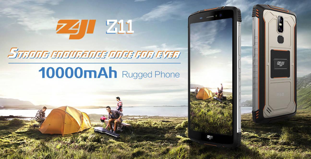 Homtom rozdaje ZOJI Z11, wzmocniony smartfon 10 000 mAh