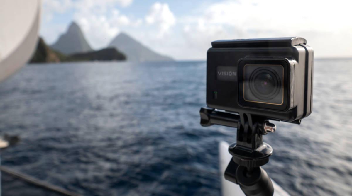 Kruger&Matz zaprezentował kamerę sportową Vision P500