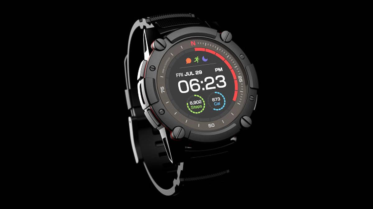 MATRIX PowerWatch 2 - outdoorowy smartwatch z zasilaniem solarnym i termoelektrycznym