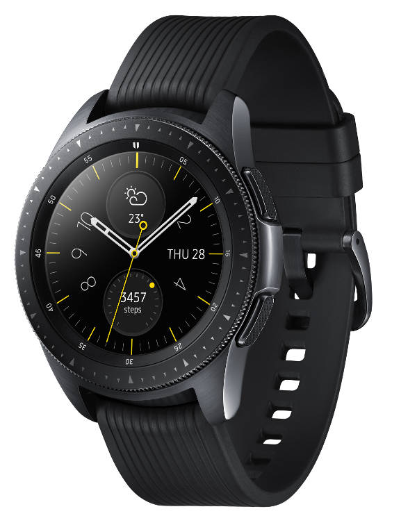 1d7daff0f97e59 W połączeniu z rosnącą liczbą aplikacji daje to coraz ciekawsze efekty.  Samsung Galaxy Watch to najnowszy model w portfolio koreańskiego producenta.