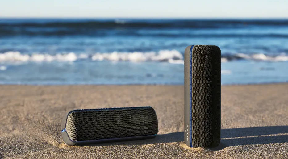 Sony EXTRA BASS - odnowiona linia wodoodpornych głośników mobilnych IP67