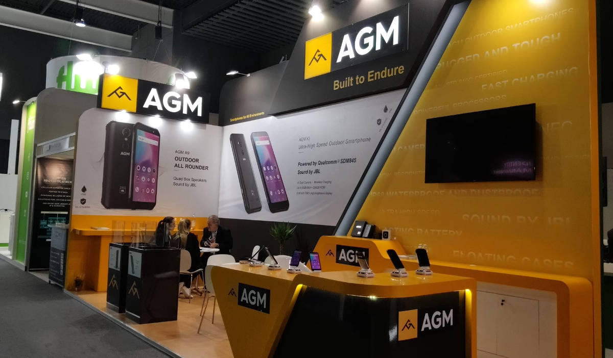 AGM na MWC: premiera AGM M5, współpraca z JBL, AGM w Europie