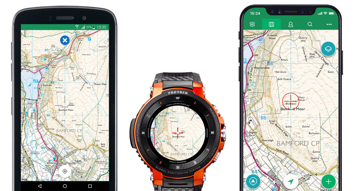 Casio Pro Trek Smart z ulepszonymi mapami ViewRanger