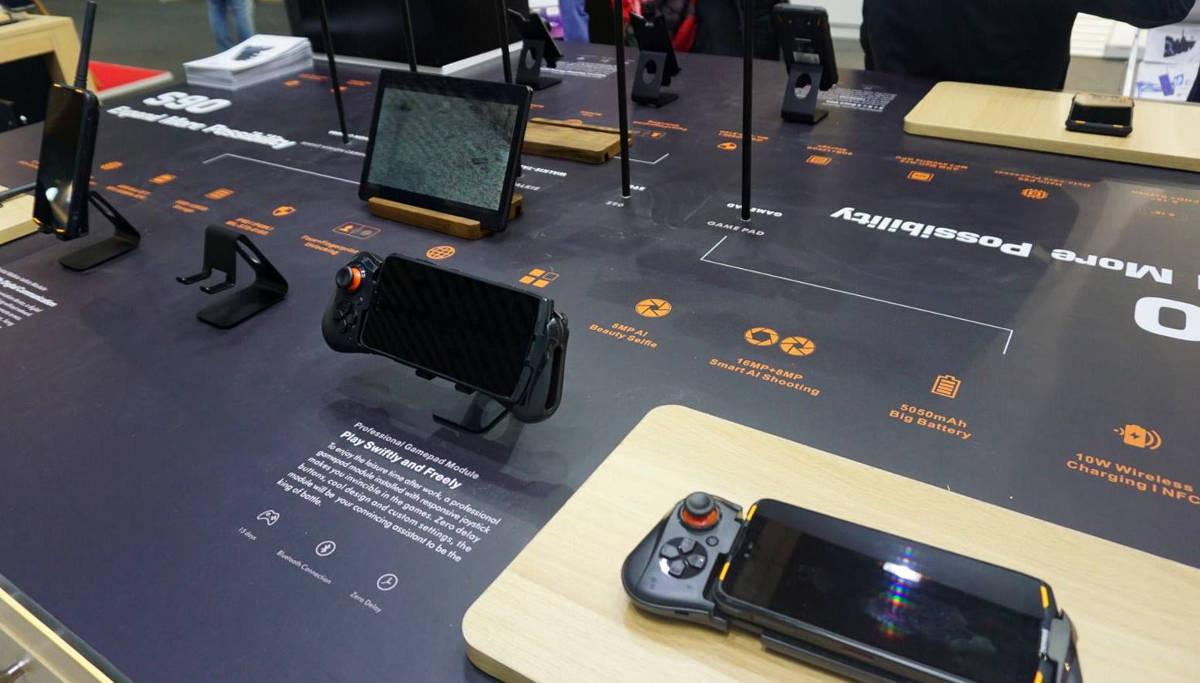 Moduł 5G dla DOOGEE S90 pokazany na MWC 2019