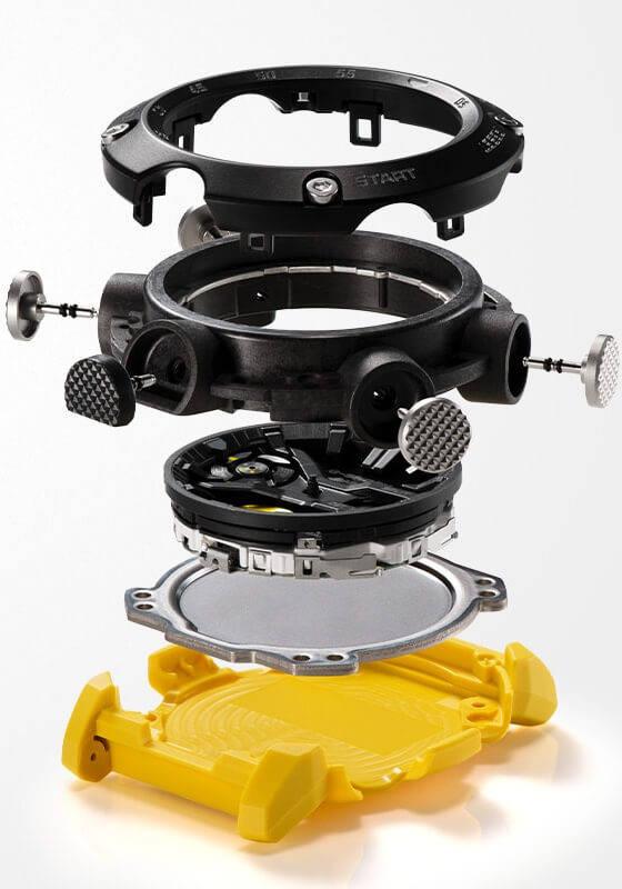 946ae42657fe2c Jak na zegarki G-SHOCK przystało, nowe Casio G-SHOCK GA-2000 są odporne na  wstrząsy, uderzenia i zapewniają wodoodporność do 200 m.