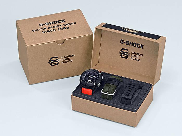 75ccf52eddb15d Zegarki Casio G-SHOCK GA-200 mają jedynie stoper 1/100 s (24 h), timer (24  h), czas światowy i alarmy. Podświetlenie zapewnia podwójny system Super ...