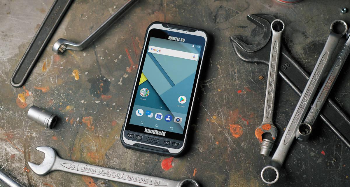 Nautiz X6, nowy smartfon firmy Handheld - dla specjalistów