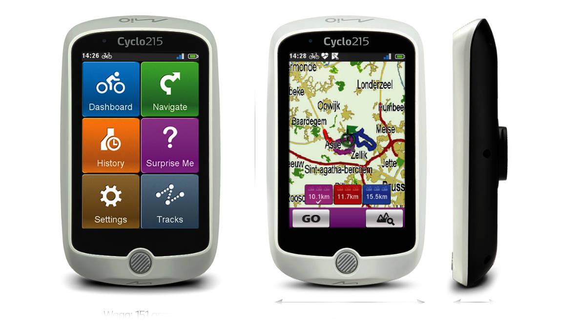 Mio wprowadza Cyclo 215 HC - nawigację rowerową nie tylko dla początkujących