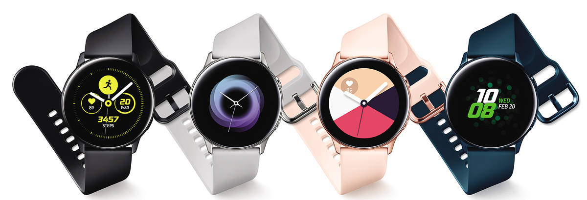 Samsung Galaxy Watch Active oficjalnie