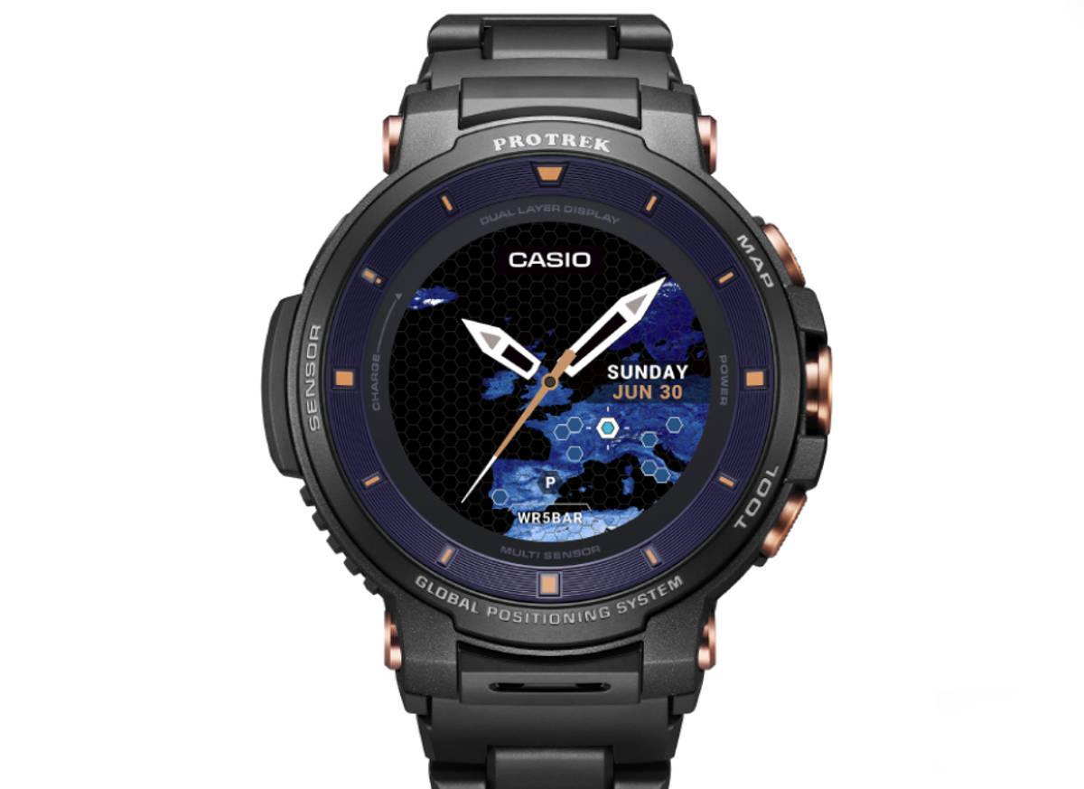 Casio WSD-F30 Pro Trek w edycji specjalnej SC: szafir i kompozytowa bransoleta