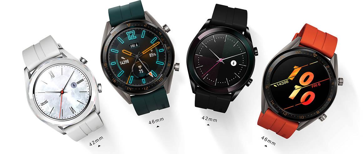 Nowe smartwatche Huawei Watch GT Active i Elegant oficjalnie zaprezentowane