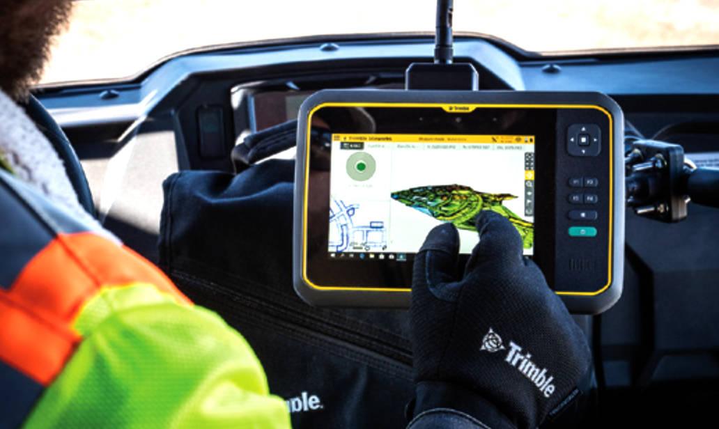 Trimble T7 – wzmocniony tablet dla geodetów