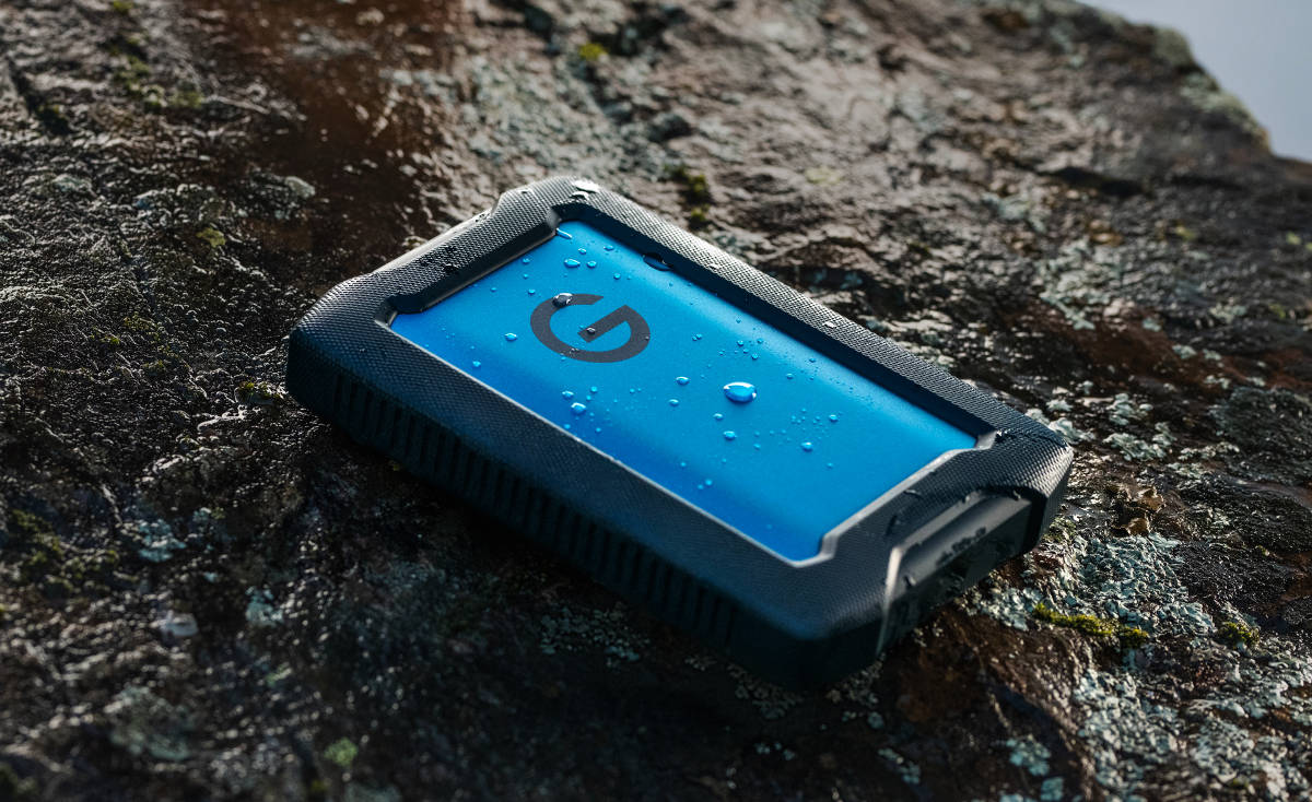 G-Technology przedstawia wytrzymały dysk HDD ArmorATD