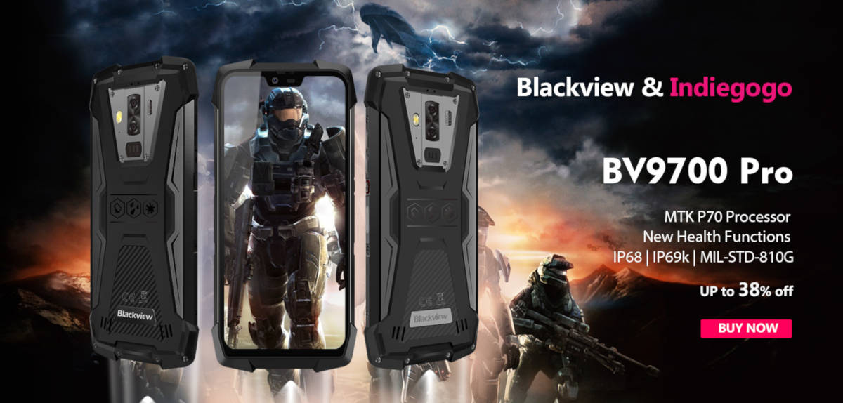 Blackview BV9700 Pro – 16 maja debiut na Indiegogo. Cena? 299 USD