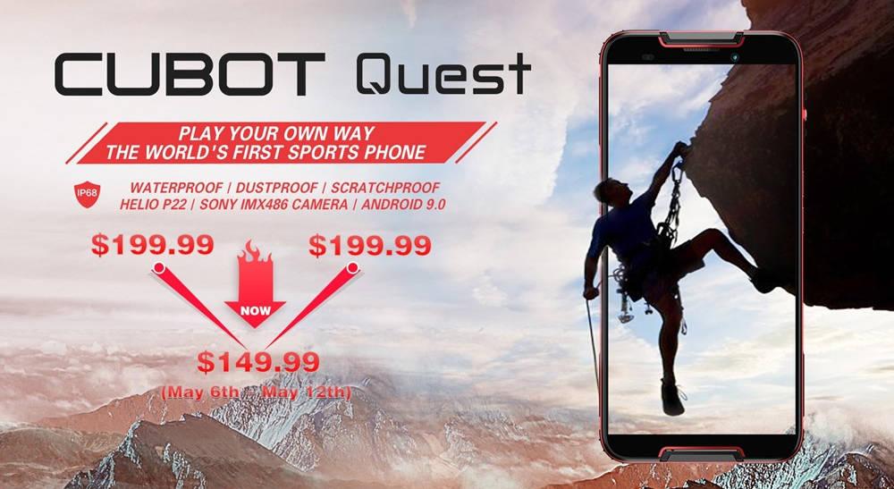 CUBOT Quest i CUBOT Quest Lite: możesz już je kupić na GearBest!