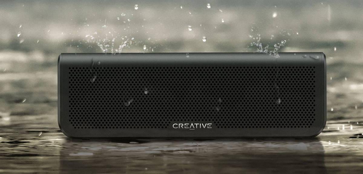 Creative Metallix Plus - jest wodoszczelny i gra przez 24 godziny