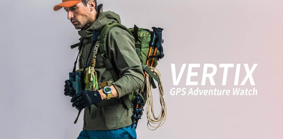 Coros Vertix – nowy smartwatch GPS dla poszukiwaczy przygód