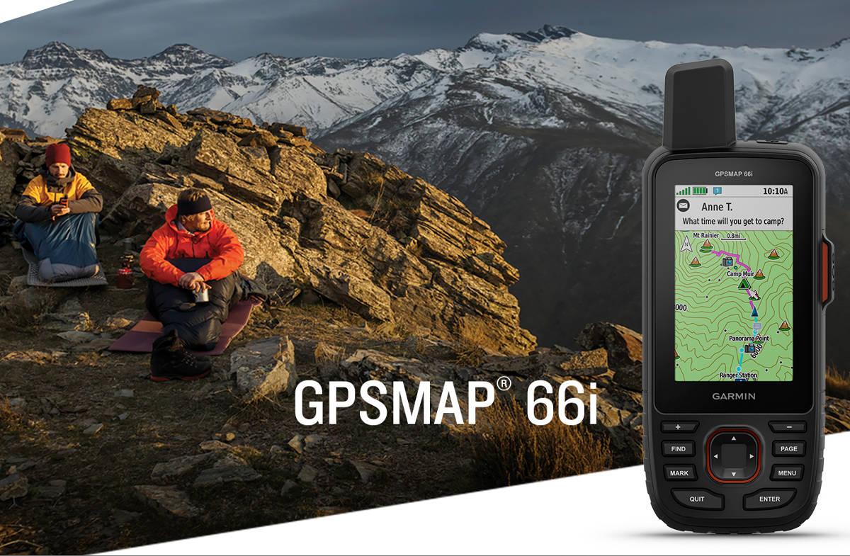 Oto Garmin GPSMAP 66i – połączenie nawigacji outdoorowej i komunikatora satelitarnego inReach