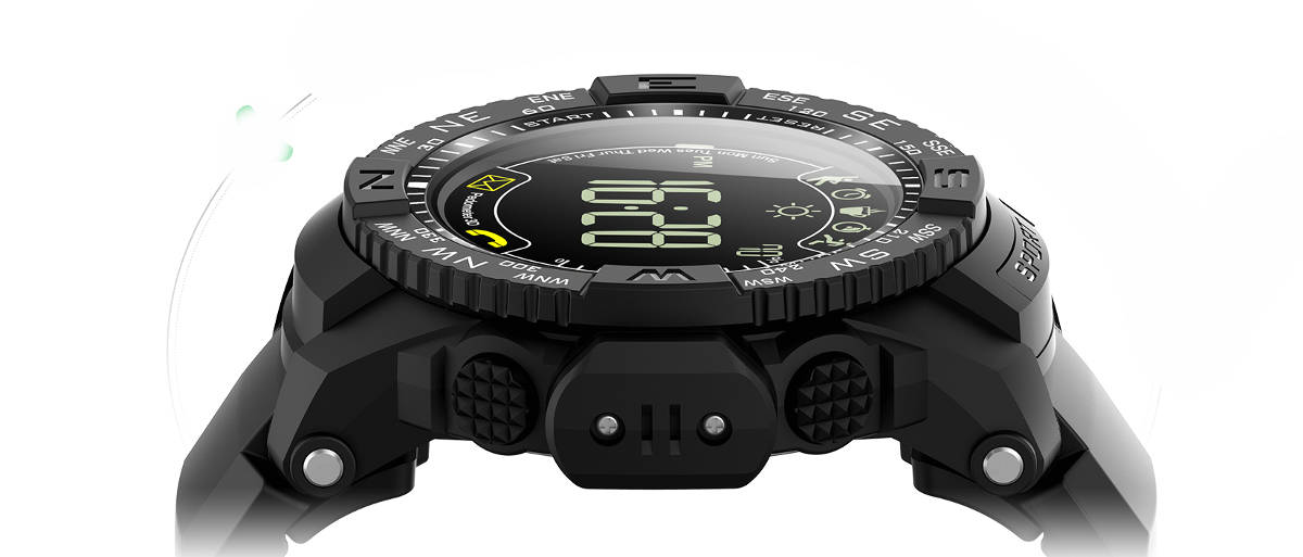 ioutdoor Pioneer P10 to nowy sportowy zegarek  MIL-STD-810G