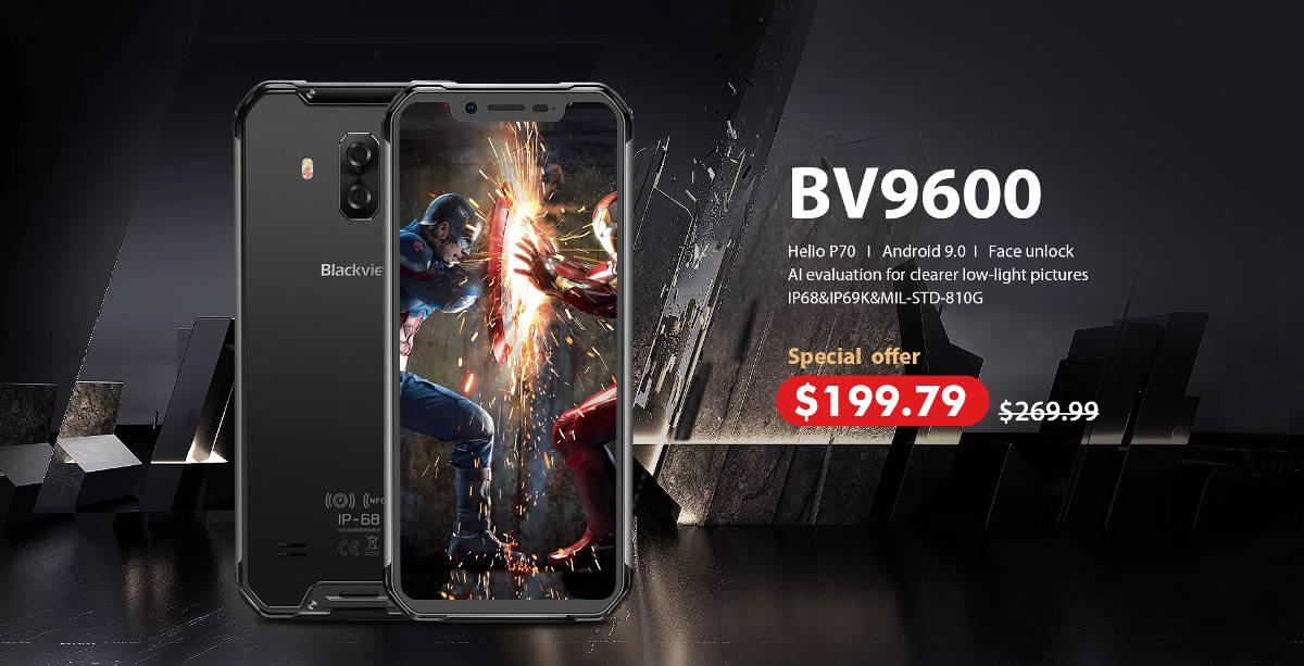 Cenowa promocja na Blackview BV9600: tylko 758 zł