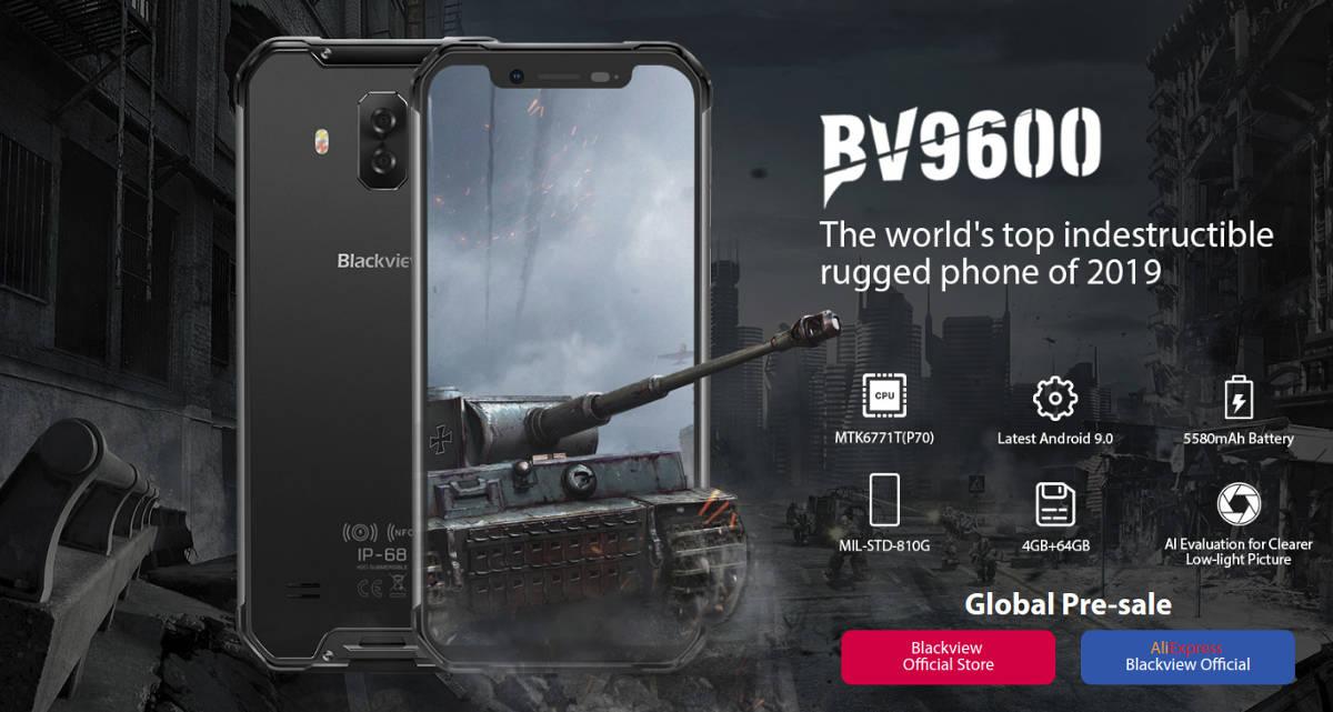 "Blackview BV9600 (2019) - bez ""pro"", ale z nowszym procesorem"