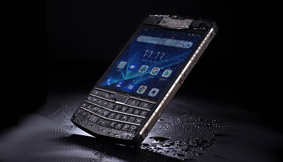 Unihertz Titan, wzmocniony smartfon w stylu BlackBerry