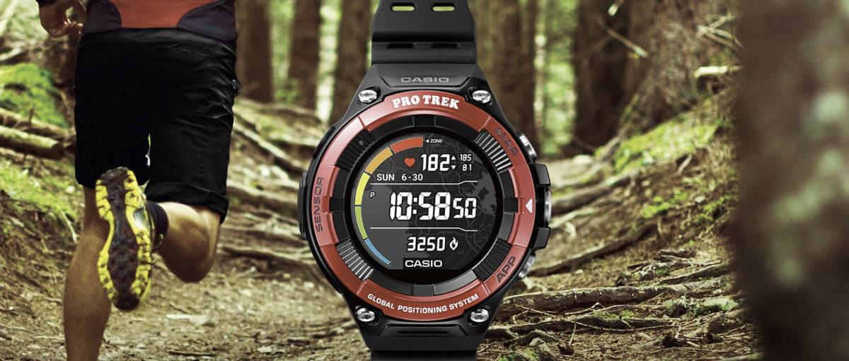 Casio Pro Trek Smart WSD-F21HR - turystyczny smartwatch tym razem z monitorem pracy serca