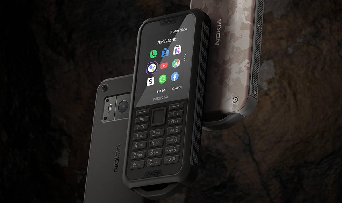 Nokia 800 Tough, nowy pancerny klasyk zaprezentowany na IFA.  Ma LTE, hotspot i system KaiOS
