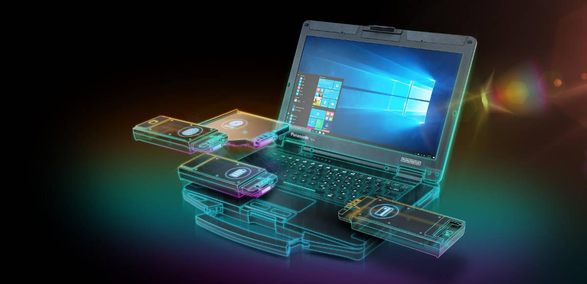 TOUGHBOOK 55 - nowy wzmocniony notebook Panasonica z wymiennymi modułami