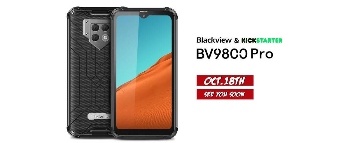 Kampania Blackview BV9800 (Pro) wystartuje 18 października. Jaka cena?