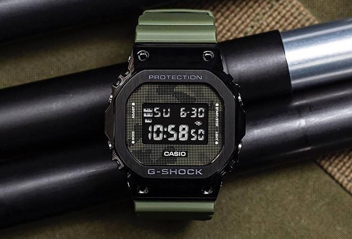 G-SHOCK GM-5600B-3ER - jeden z najładniejszych militarnych zegarków Casio jest w Polsce, szkoda, że taki drogi