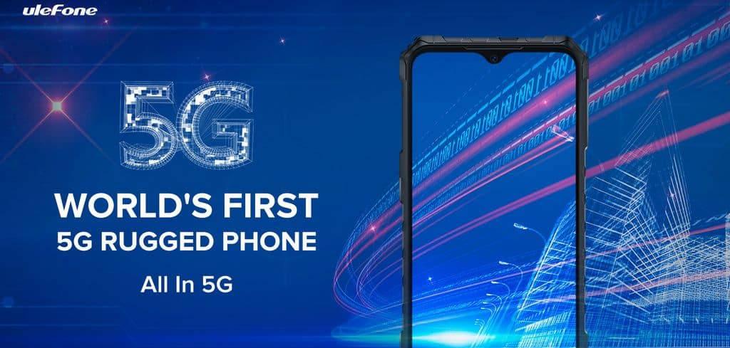 Ulefone i Blackview zapowiadają pancerne smartfony 5G