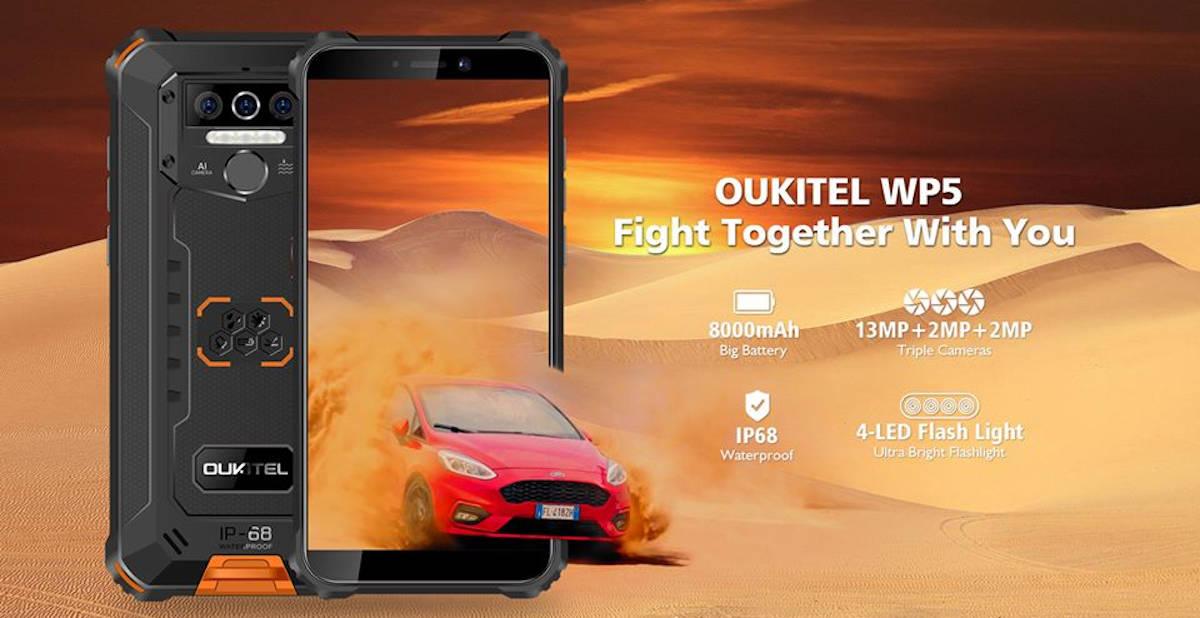 Oukitel WP5 z baterią 8000 mAh w sprzedaży, kosztuje mniej niż 400 zł
