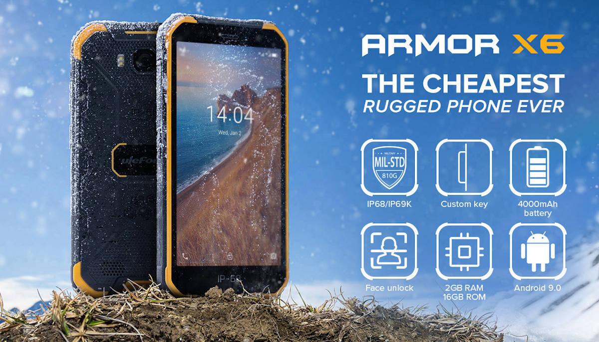 Ulefone Armor X6 – pięciocalowy smartfon dla oszczędnych