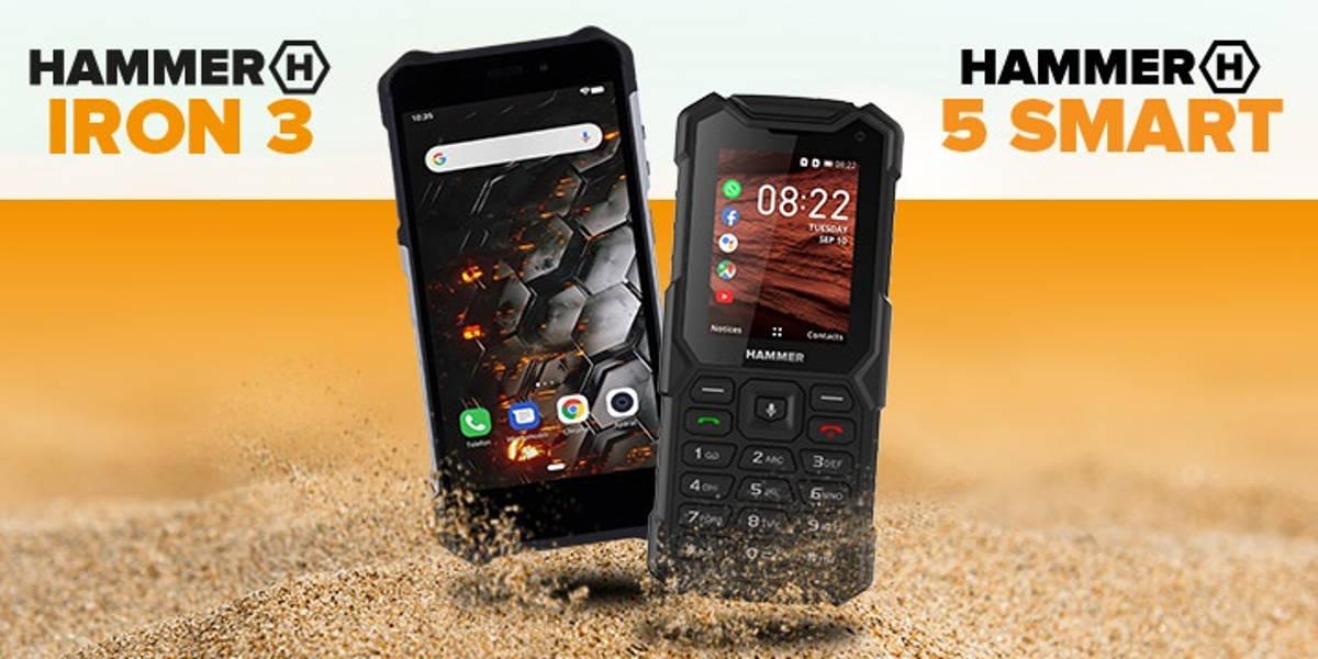 HAMMER 5 Smart i Iron 3 wchodzą na rynek.  Klasyk z KaiOS i smartfon z Androidem GO