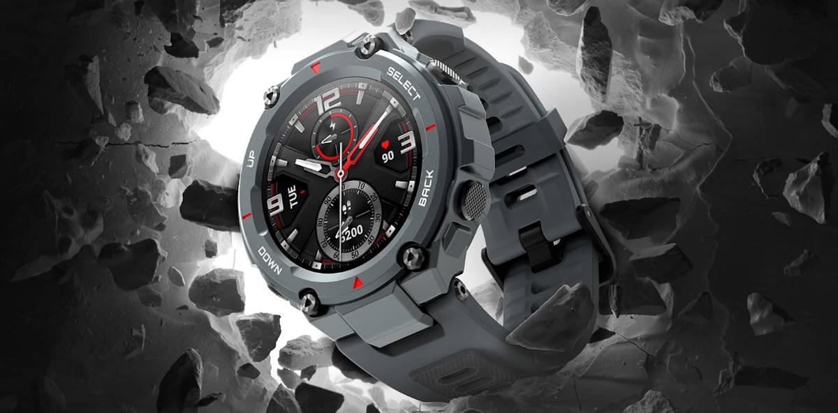 Amazfit T-Rex – czyli pancerny smartwatch Xiaomi pokazany na CES