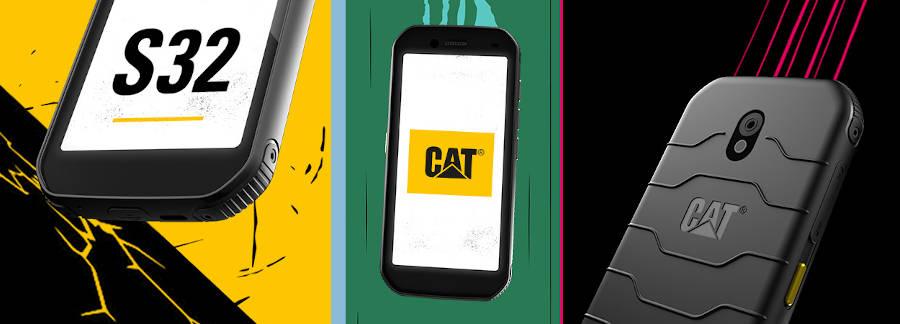 Cat phones prezentuje nowy smartfon Cat S32: najniższa półka, przeciętna specyfikacja, cena przystępna