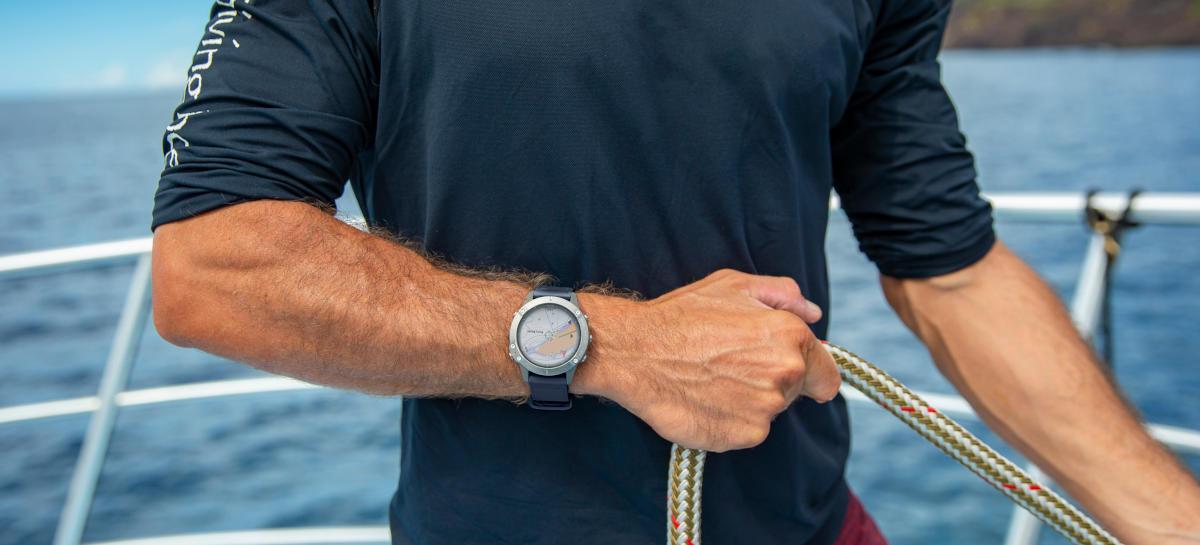 Garmin quatix 6 – nowy, wytrzymały smartwatch dla żeglarzy ma zaawansowane funkcje pokładowe