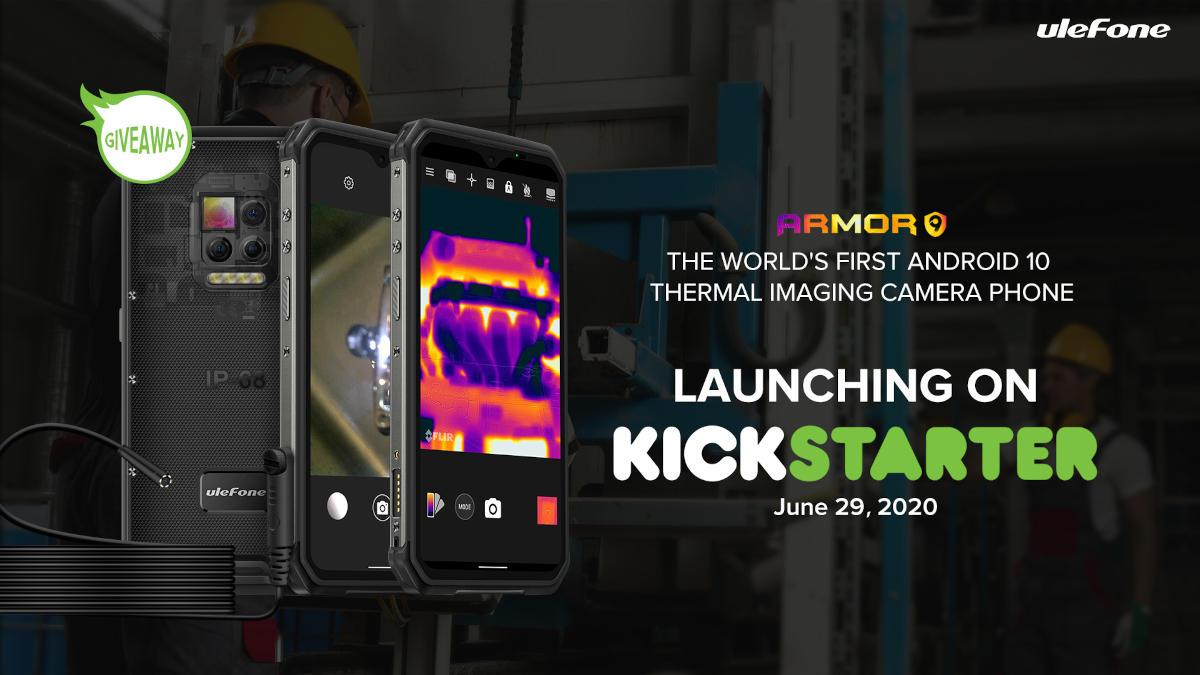 Ulefone Armor 9 z kamerą FLIR i aparatem 64 Mpix na Kickstarterze
