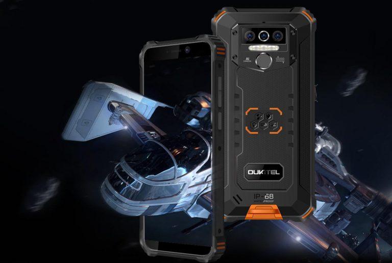Nadchodzi Oukitel WP5 Pro, czyli kolejny smartfon z dużą baterią 8000 mAh