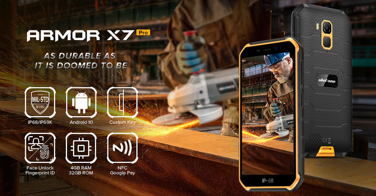 Ulefone wprowadził do sprzedaży kolejny model z niższej półki: Armor X7 Pro