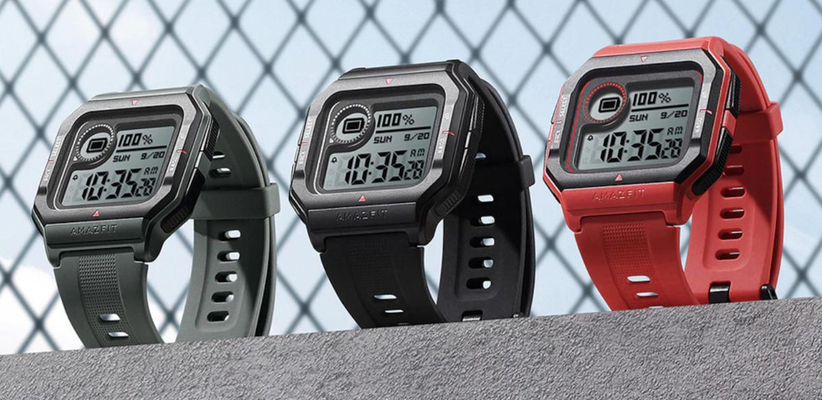 Kiedy Casio spotyka się z Huami... Można już zamawiać retro smartwatch Amazfit Neo